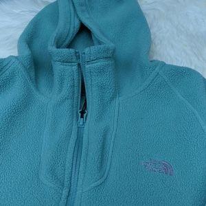 North face 1/4 zip hoodie